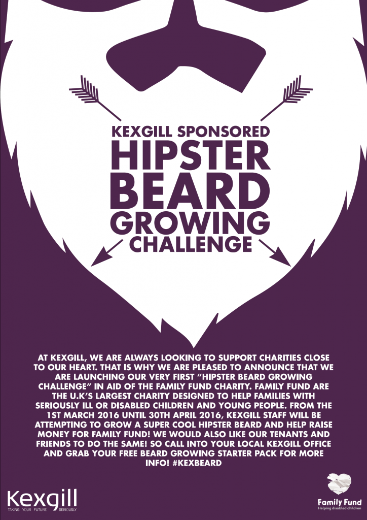 Hipster Beard Growing Challenge