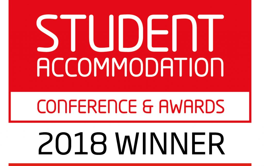 Student Accommodation Salford Awards 2018 Winner